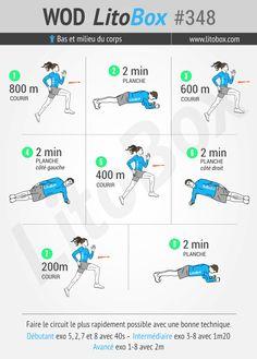 Entraînement de moins de 20 minutes : courir avec des planches (pas dans les mains ! )  + Pensez à partager ce WOD ou à tagger vos amis pour les motiver à s'entraîner et les challenger.  Bon courage et bonne journée.  Pierre.