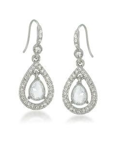 Sparkling Teardrop Earrings