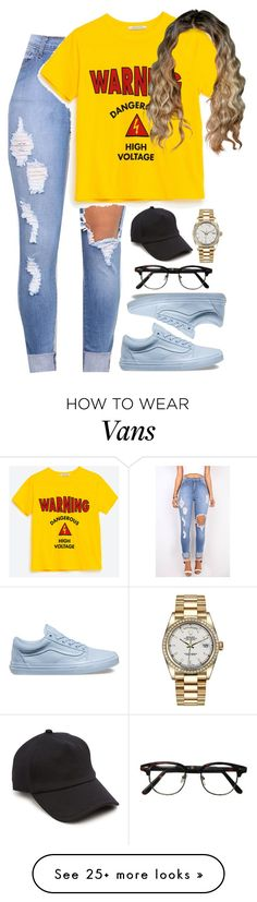 """""""8.25.16"""" by mcmlxxi on Polyvore featuring Vans, rag & bone and Rolex"""