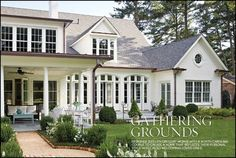 Traditional Home Exteriors, Colonial House Exteriors, Colonial Exterior, Dream House Exterior, Traditional House, Modern Colonial, Traditional Home Magazine, Colonial House Plans, Colonial Architecture