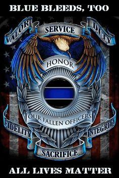 Blue Bleeds Too, All Lives Matter.#Peace #Love #Light <3  http://www.huffingtonpost.com/brian-levin-jd/blue-bleeds-too-all-lives_b_6363520.html