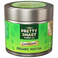 The Pretty Smart Food Co Ceremonial Organic Japanese Matcha Tea Japanese Matcha Tea, Best Matcha Tea, Matcha Drink, Matcha Green Tea Powder, Green Powder, Organic Matcha, Lower Cholesterol, Cooking, Pretty