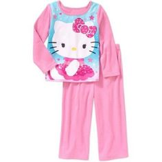 Toddler Girls Hello Kitty 2pc Flannel Pajama Set Size 3T New with Tags!! Cute  #HelloKitty SALE!!
