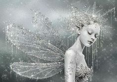Queen of Ice and Snow / karen cox.   Crystal Fairy