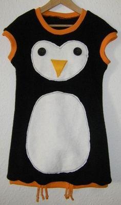 """Kleid Pinguin nach """"Amelie"""" von Farbenmix/ Dress Penguin"""