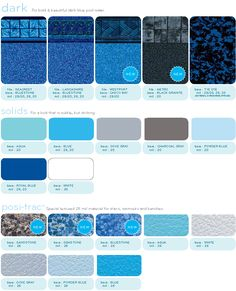 JMS Inground Pool Liners, Swimming Pool Liner Patterns, Vinyl Pool Liners SO many to choose from! Inground Pool Designs, Backyard Pool Designs, Pool Decks, Backyard Beach, Above Ground Pool Liners, Lagoon Pool, Pool Finishes, Small Swimming Pools, Pool Remodel