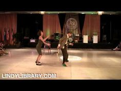 ILHC 2011 - Showcase Lindy Hop Routine - Max Pitruzzella & Annie Trudeau 1st place! Hold on to your hats!