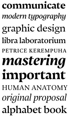 Nocturno & Nocturno Display on Typography Served