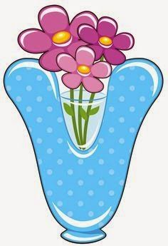 V is for Vase, Baby Alphabet Abc For Kids, Alphabet For Kids, Alphabet Art, Alphabet And Numbers, Friendship Flowers, Alphabet Templates, Printable Alphabet, Scrapbook Letters, Alphabet Pictures
