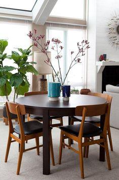 Comedores con mesas redondas | Decorar tu casa es facilisimo.com