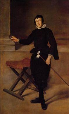The Buffoon Juan de Calabazas (Calabacillas) - Diego Velazquez