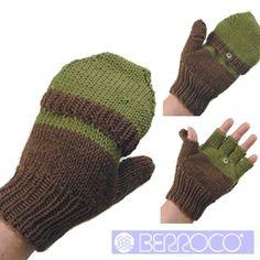 """""""Pele"""" Knitted Men's Mitten Pattern by Berroco - FREE Knitting Pattern"""