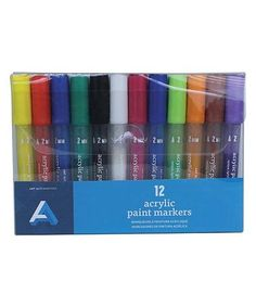 This 12-Ct. Acrylic Markers is perfect! #zulilyfinds