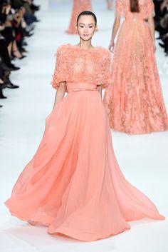 Elie Saab Spring 2012 Couture Fashion Show - Lee Hye Jung (MAJOR)