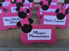 Hey, I found this really awesome Etsy listing at https://www.etsy.com/listing/464370573/minnie-mouse-food-labels-set-of-12