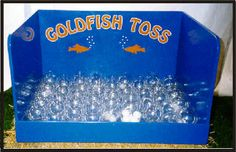No goldfish!  Different colors, different prizes.  Cover a couple for a special prize!