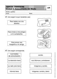 Resultado de imagen de actividades para trabajar los medios de comunicacion en primaria