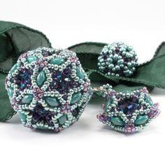 Fiberoptic Dodecahedron Kits - Cindy Holsclaw - Bead Origami
