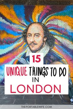 Looking for unique things to do in London off the beaten path? My guide to the best non touristy things to do in London are full of London hidden gems and places to visit in London on a budget. If you want to travel London like a local while still finding time for London must do experiences, this is the travel guide for you! #london #uktravel #england