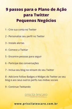 Dicas empreendedores usarem o Twitter #empreendedorismo #twitter #dicas #pequenosnegocios #redessociais