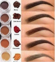 Eye Makeup Tips.Smokey Eye Makeup Tips - For a Catchy and Impressive Look Love Makeup, Makeup Tips, Beauty Makeup, Hair Makeup, Gorgeous Makeup, Makeup Ideas, How To Color Eyebrows, Perfect Eyebrows, Makeup Looks