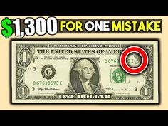 Do you have a fancy serial number on your dollar bill? We look at rare dollar bills that are worth money. Check out my other coin collecting and money videos. Rare Coins Worth Money, Valuable Coins, 10 Dollar Bill, Dollar Bills, Coin Collection Value, Penny Values, Budget Help, Coin Worth, Coin Values