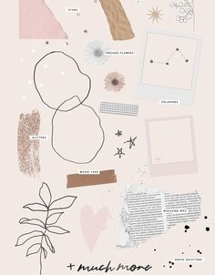 aesthetic Workout Plans workout plans 3 days a week Collages, Collage Art, Cute Wallpapers, Wallpaper Backgrounds, Iphone Wallpaper, Portfolio Cover Design, Overlays Tumblr, Polaroid Frame, Collage Template