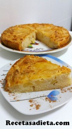 Tortas Light, Pan Dulce, Deli, Gluten Free Recipes, Sugar Free, Easy Meals, Sweets, Cooking, Desserts