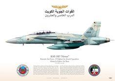 KUWAIT AIR FORCE - القوات الجوية الكويت القوة الجوية الكويتية السرب الخامس والعشرون Kuwait Air Force 25 Fighter & Attack Squadron Ahmed al Jaber Air Base KAF-18D Kuwait Air Force القوات الجوية الكويت 444 JP-1133