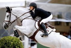 "ahorsecalledtimber: "" Georgina Bloomberg and Juvina, LGCT Paris, Source: LGCT "" Cute Horses, Horse Love, Horse Girl, Beautiful Horses, Equestrian Chic, Equestrian Outfits, Equestrian Problems, Show Jumping Horses, Show Horses"