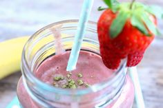 Hanfprotein-Smoothie, post-workout Smoothie Rezept am Greenorangeblog