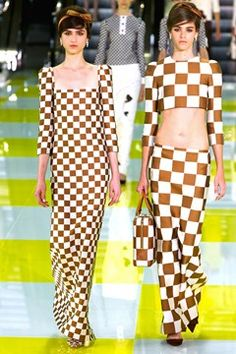 Spring trend - Playing Chequers
