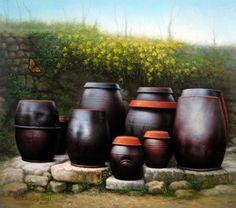 Jars Of Korea Painting