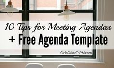 Meetings need agendas because it helps keep everyone focused. Here are 10 easy tips for great meeting agendas. Plus a free agenda template! Contract Management, Business Management, Project Management, Effective Meetings, Meeting Agenda Template, Good Boss, Interview Skills, Staff Meetings, Business Ethics