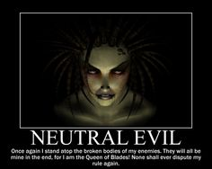 Neutral Evil Sarah Kerrigan by 4thehorde on DeviantArt