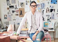 A Pop of Color and Long Hours: Jenna Lyons' Best Success Tips ~ Levo League