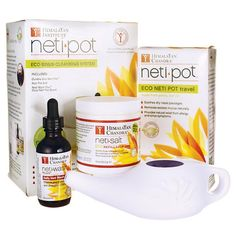 5 Kits Himalayan Institute Delicious Neti Pot Ceramic Starter Kit