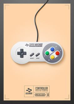 Controller Poster Series - Super Nintendo