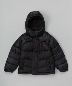 This Black Puffer Jacket - Toddler & Boys by Vertical 9 is perfect! #zulilyfinds