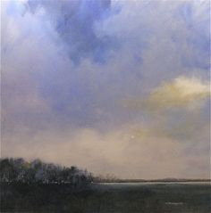 """""""A Prussian Blue Kind of Day"""", 40 x 40"""", Charles Emery Ross"""