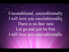 Katy Perry - Unconditionally (Lyrics On Screen) HD