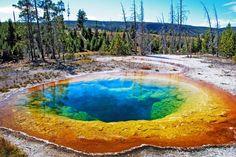 Yellowstone-Nationalpark und Geysir Old Faithful mit dem Wohnmobil erkunden. Informationen und Campground-Tipps - jetzt bei CU | Camper buchen!