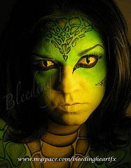 Reptile Body Paint | Face Painting