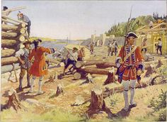 The Raid on Dartmouth (also referred to as the Dartmouth Massacre) occurred during Father Le Loutre's War on May 13, 1751 when an Acadian and Mi'kmaq militia from Chignecto, under the command of Acadian Joseph Broussard, raided Dartmouth, Nova Scotia, destroying the town and killing twenty British villagers. This raid was one of seven the Natives and Acadians would conduct against the town during the war.