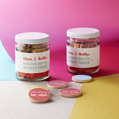 Personalised Daddy And Me Activity Tokens Jar - what's new