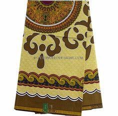 Wholesale Brown African fabric/ Ankara Wax Block Fabric/ African Wax Print/ African Clothing/ Ankara print/ 6 yards WP835 by TessWorldDesigns on Etsy