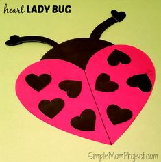 See this post for a FREE printable template to make your own Valentine's Day Lady Bug! This simple DIY Lady Bug Valentine's Day card is an easy craft for toddlers, big kids and adults to make. Great for classroom Valentine's Day art projects. Valentines Day Bulletin Board, Valentines Art, Homemade Valentines, Crafts For Kids To Make, Diy Craft Projects, Diy Crafts For Kids, Bug Activities, Toddler Activities, Easy Toddler Crafts