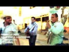 Gerardo Ortiz - Solo Vine a Despedirme (Video Oficial) 2012.