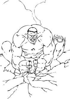 Hulk l�sst den Boden beben