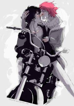 Gray and Natsu from Fairy Tail perdón por el error, me pasa por pinear a la rapida sin prestar atención :)